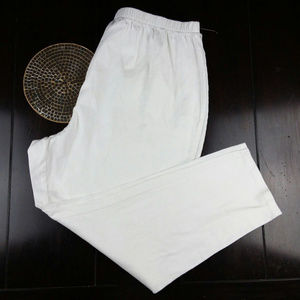 🛍3 for $30 Plus Size Catherine's nwot White 5xwp